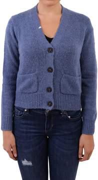 Sun 68 Merino Wool Blend Knit Cardigan