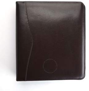 Royce Leather Royce Brown Executive One and a Half Inch Ring Binder