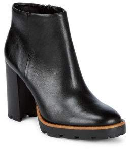 Saks Fifth Avenue Chic Leather Booties