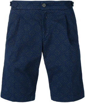 Re-Hash tile print shorts