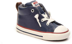 Converse Boys Chuck Taylor All Star Street Toddler High-Top Slip