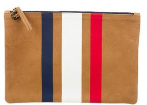 Clare Vivier Leather Zip Pouch