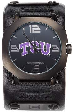 Rockwell Kohl's TCU Horned Frogs Assassin Leather Watch - Men