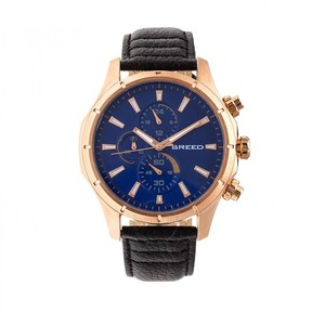Breed Lacroix Chronograph Blue Dial Watch