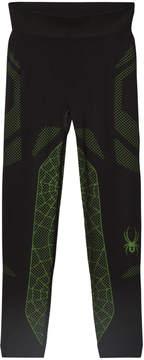 Spyder Black and Green Boys Racer Pant