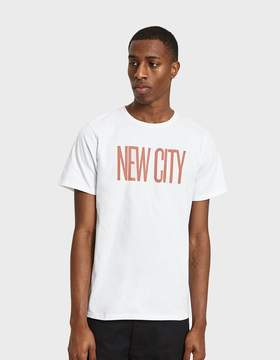 Saturdays NYC New City SS Tee in White