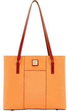 Dooney & Bourke Pebble Grain Lexington Shopper Tote - APRICOT - STYLE