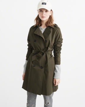 Abercrombie & Fitch Classic Trench Coat