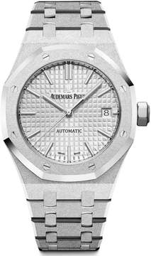 Audemars Piguet Royal Oak Rhodium Dial Ladies Watch