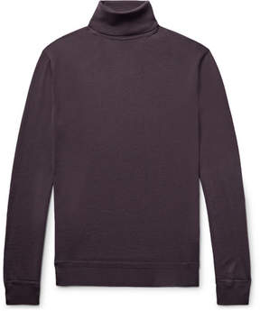 Ermenegildo Zegna Wool And Cashmere-Blend Rollneck Sweater