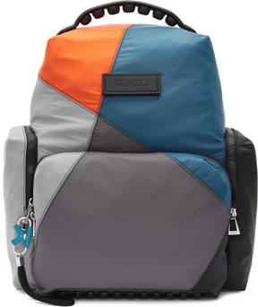 Kenzo Multicolor Nylon Tarmac Backpack