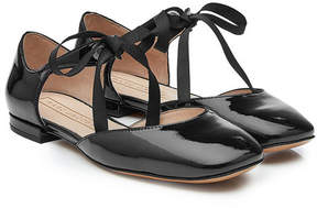 Marc Jacobs Patent Leather Mary-Jane Flats