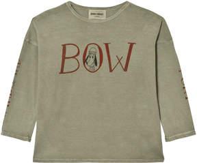 Bobo Choses Khaki Bow T-Shirt