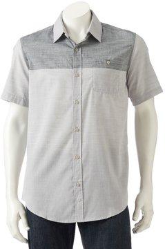 Burnside Men's Colorblock Button-Down Shirt