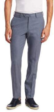 Loro Piana Four-Pocket Flannel Slim Trousers