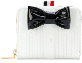 Thom Browne bow and shirt wallet