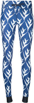 The Upside Day Lilies print leggings