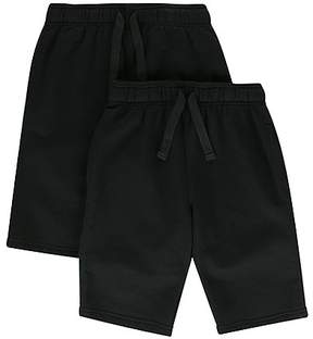 Marks and Spencer 2 Pack Boys' Cotton Rich Sweat Shorts