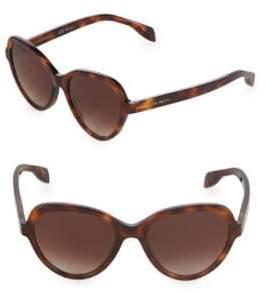 Alexander McQueen 51MM Oversized Sunglasses