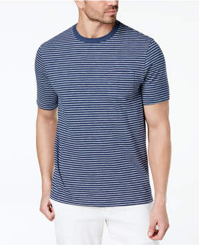 Club Room Men's Pinstriped T-Shirt, Created for Macy's