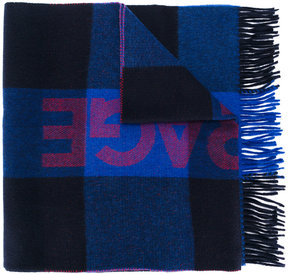 MAISON KITSUNÉ checked scarf