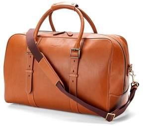 Aspinal of London | Large Harrison Weekender Travel Bag In Smooth Tan | Smooth tan