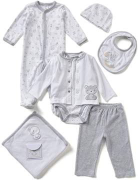 Starting Out Baby Boys Newborn-6 Months Bear 7-Piece Layette Collection