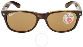Ray-Ban New Wayfarer Polarized Brown Sunglasses