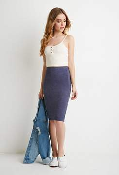 Forever 21 Stretch Knit Pencil Skirt