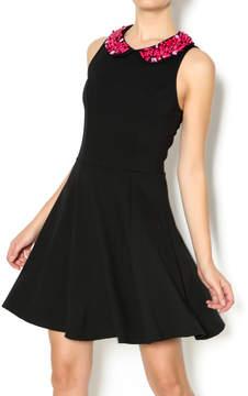 Eight Sixty Black Beaded Dress