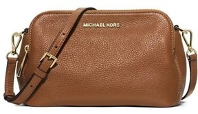 Michael Kors Bedford Medium Messenger Bag - Luggage - 30H4GBFM2L-230 - AS SHOWN - STYLE