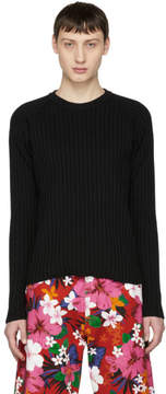 Ami Alexandre Mattiussi Black Knit Crewneck Sweater