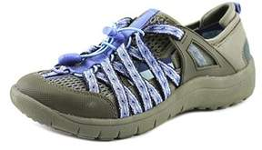 Bare Traps Baretraps Polla Women Round Toe Canvas Gray Walking Shoe.