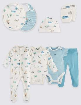 Marks and Spencer 8 Piece Pure Cotton Outfit