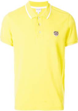 Kenzo tiger logo polo shirt