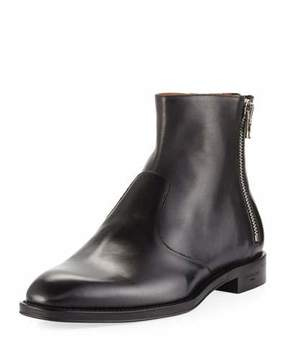 Givenchy Leather 3-Zip Ankle Boot