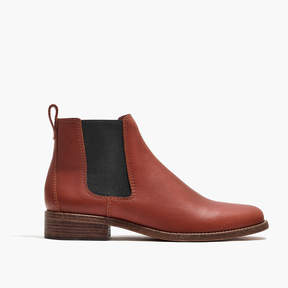 Madewell The Ainsley Chelsea Boot in Leather