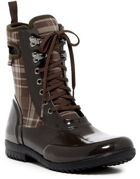 Bogs Sidney Plaid Waterproof Lace-Up Boot