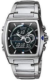 Casio Men's Edifice Thermometer Bracelet Watch