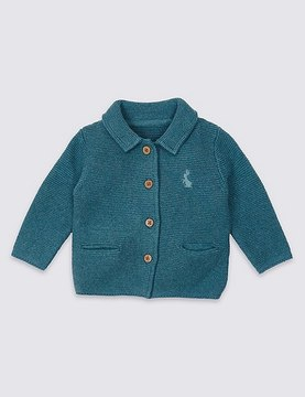 Marks and Spencer Pure Cotton Peter RabbitTM Cardigan