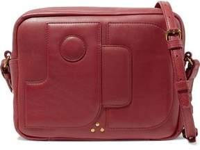 Jerome Dreyfuss Dominique Textured-Leather Shoulder Bag