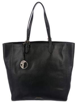 Versace Leather Shopping Tote