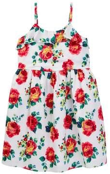 Joe Fresh Floral Ruffle Dress (Little Girls & Big Girls)