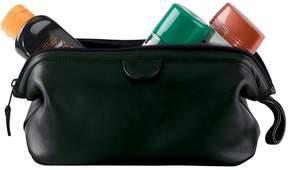 Royce Leather Royce Luxury Toiletry Travel Leather Wash Bag - Black