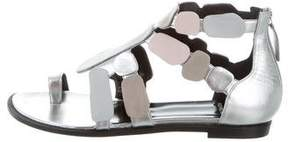 Pierre Hardy Leather Stones Sandals w/ Tags