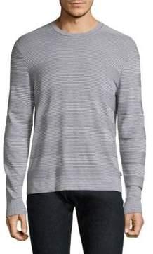 Michael Kors Stripe Cotton Long Sleeve Tee