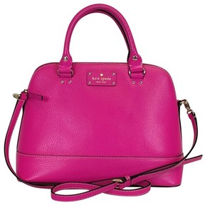Kate Spade Bright Pink Satchel - PINK - STYLE