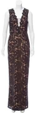 Aidan Mattox Lace Overlay Dress w/ Tags