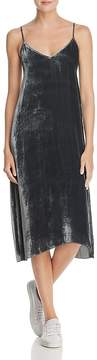 ATM Anthony Thomas Melillo Velvet Slip Dress
