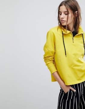 Noisy May Gym Funnel Neck Hoodie